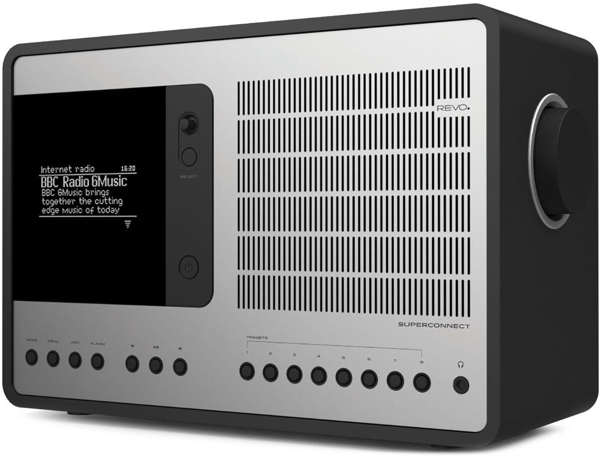Radios Internet Revo SuperConnect Noir Mat/Alu
