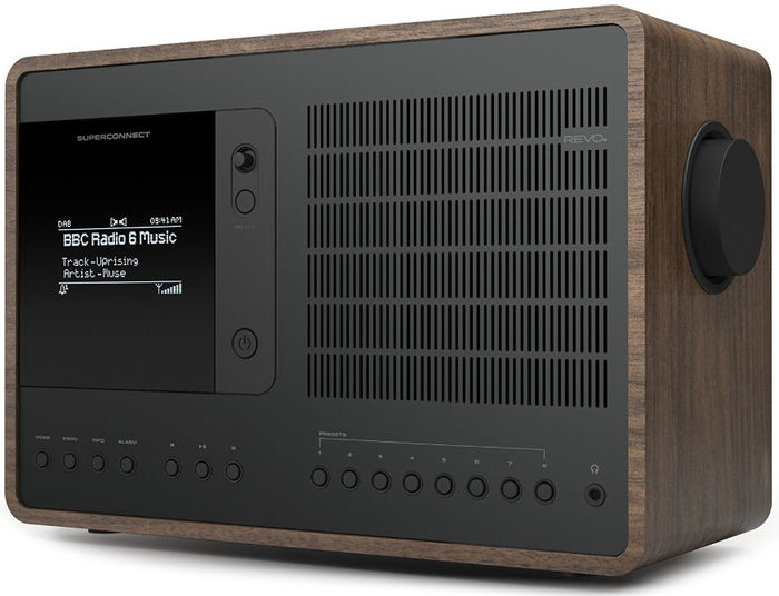 Radios Internet Revo SuperConnect Noyer/Noir