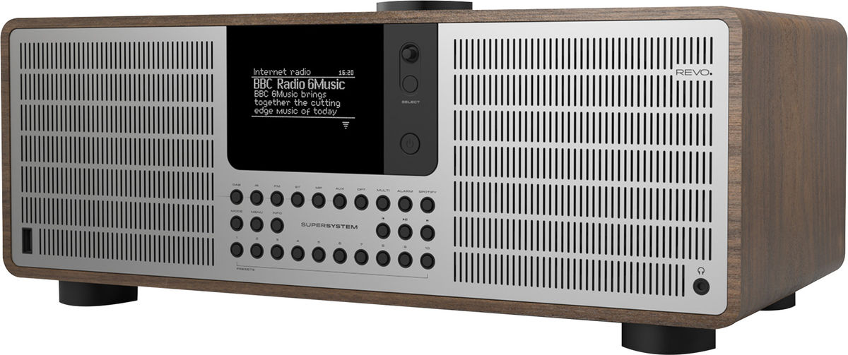 Radios Internet Revo SuperSystem Noyer/Alu