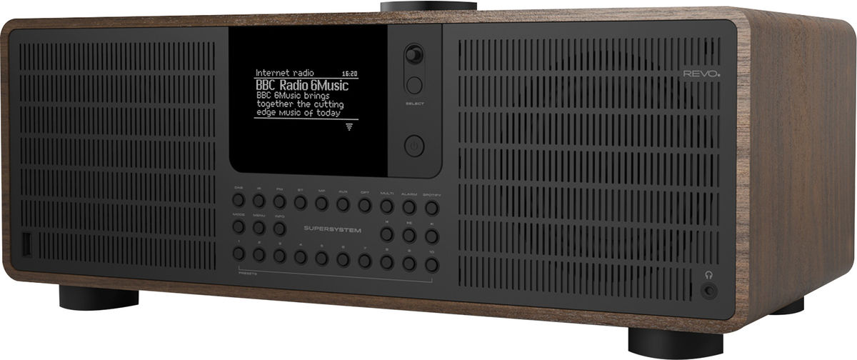 Radios Internet Revo SuperSystem Noyer/Noir