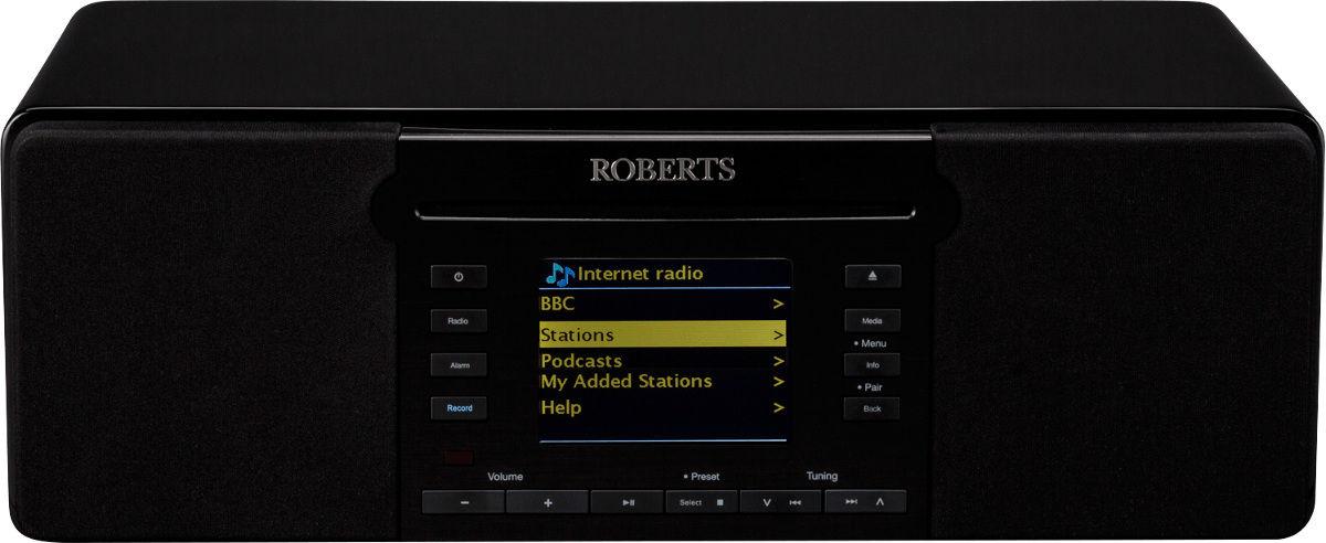 Radios Internet Roberts Stream65i Noir