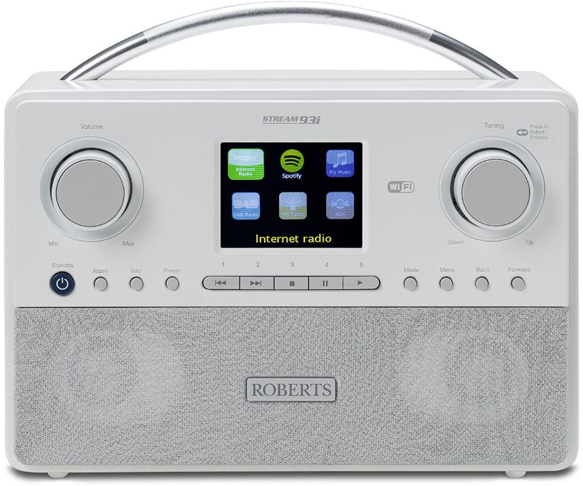 Radios Internet Roberts Stream93i Blanc