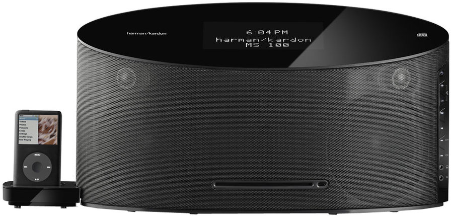 harman kardon ms100 enceintes ipod son vid. Black Bedroom Furniture Sets. Home Design Ideas
