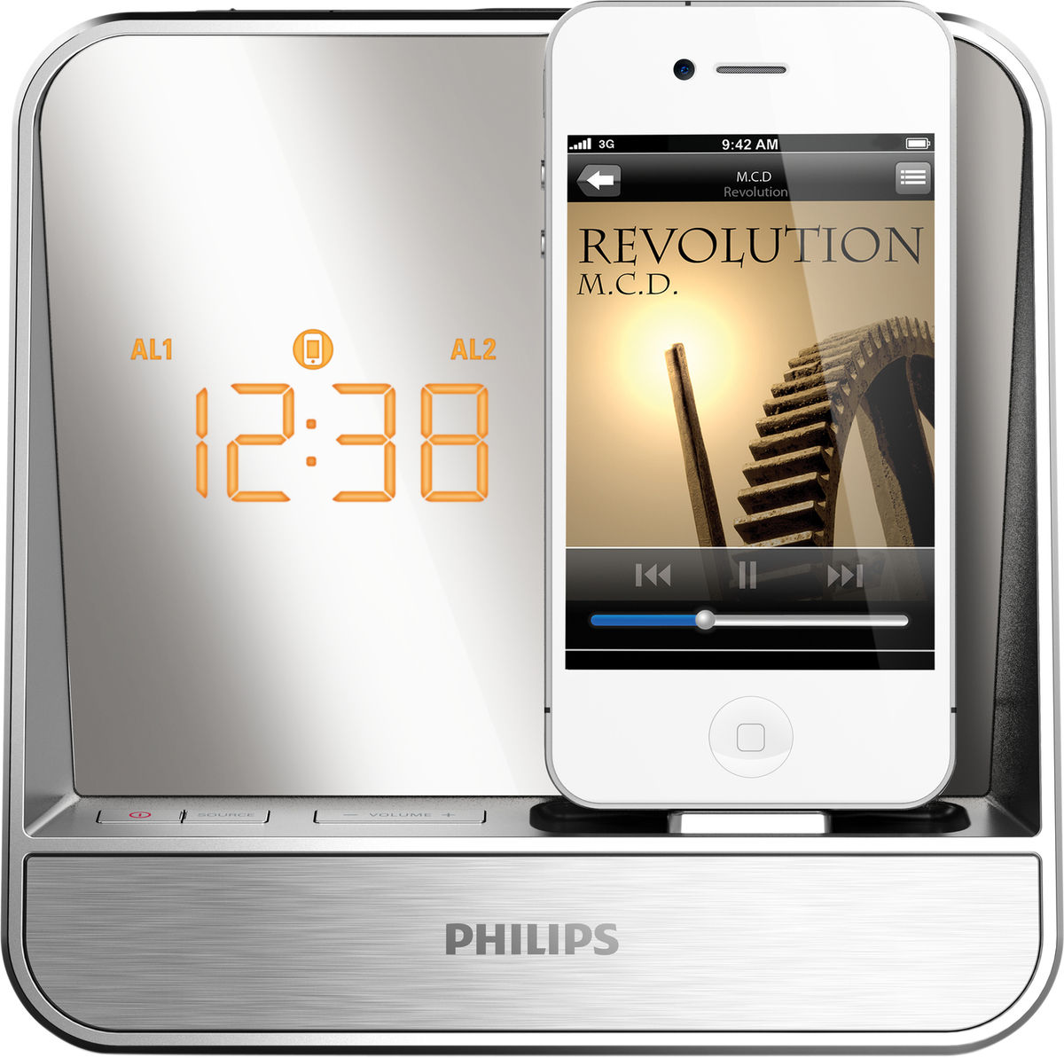 philips aj5300d enceintes ipod iphone son vid. Black Bedroom Furniture Sets. Home Design Ideas