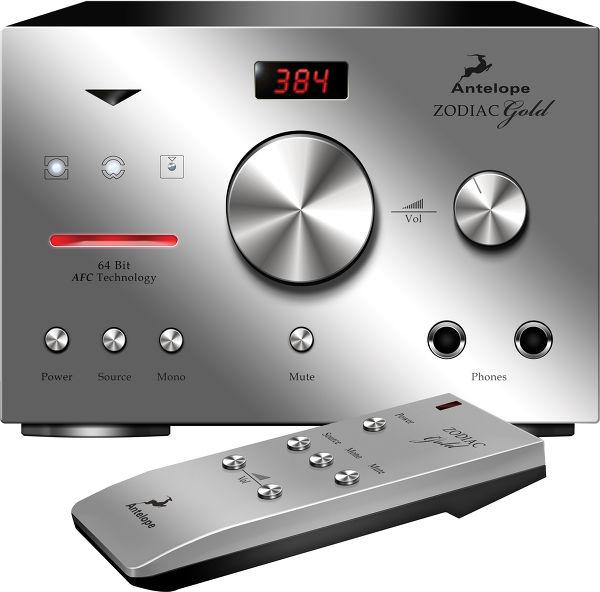 Antelope Audio Integrity Zodiac Gold DAC Vue principale
