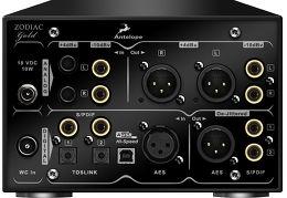 Antelope Audio Integrity Zodiac Gold DAC Vue arrière