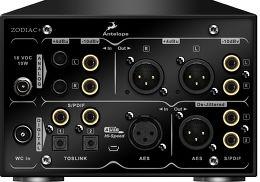 Antelope Audio Zodiac + Mastering DAC Vue arrière