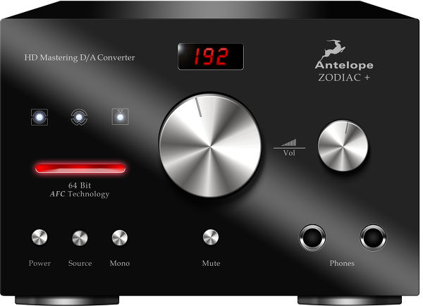 Antelope Audio Zodiac + Mastering DAC Vue principale