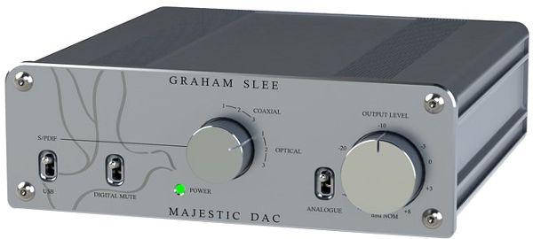 Graham Slee Majestic DAC Vue principale