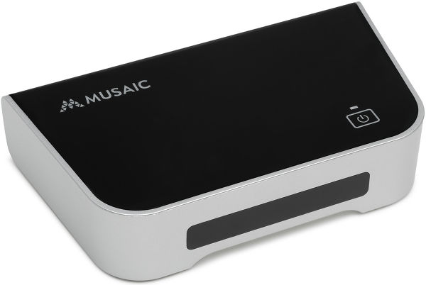 Musaic MPL Music Player Vue principale
