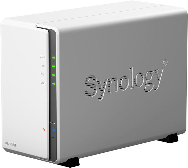 Synology DS214se Vue principale