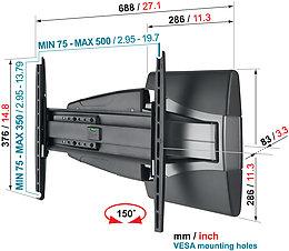 Vogel's EFW-8245 Vue arrière
