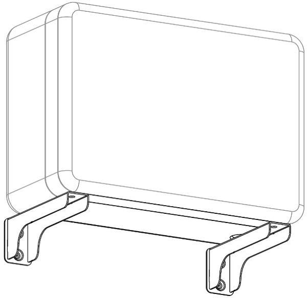 Q Acoustics Q7000 Sub Bracket Unit Vue principale