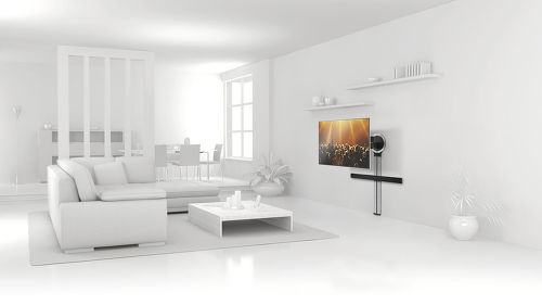 vogel s designmount support tv nouvelle g n ration le blog de son vid. Black Bedroom Furniture Sets. Home Design Ideas
