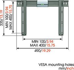 Vogel's Thin 205 Vue de détail 1