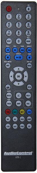 AudioControl Remote Control Vue principale