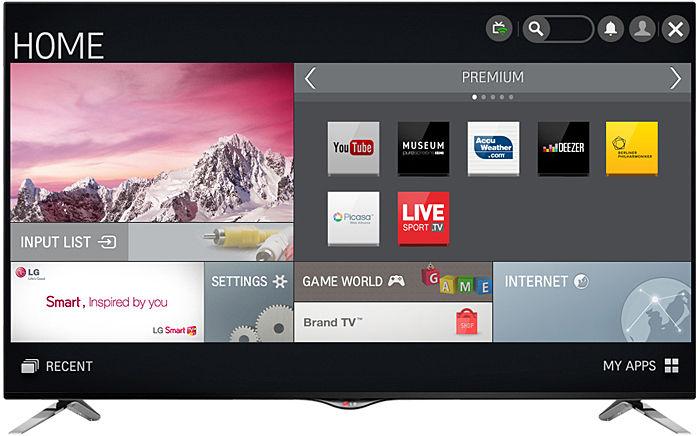 LG 49UB830V : Smart TV