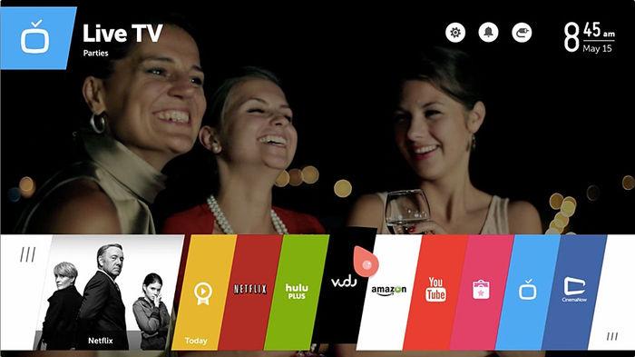 LG 655UB950V - WebOS