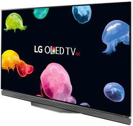 LG OLED65E6V Vue 3/4 gauche