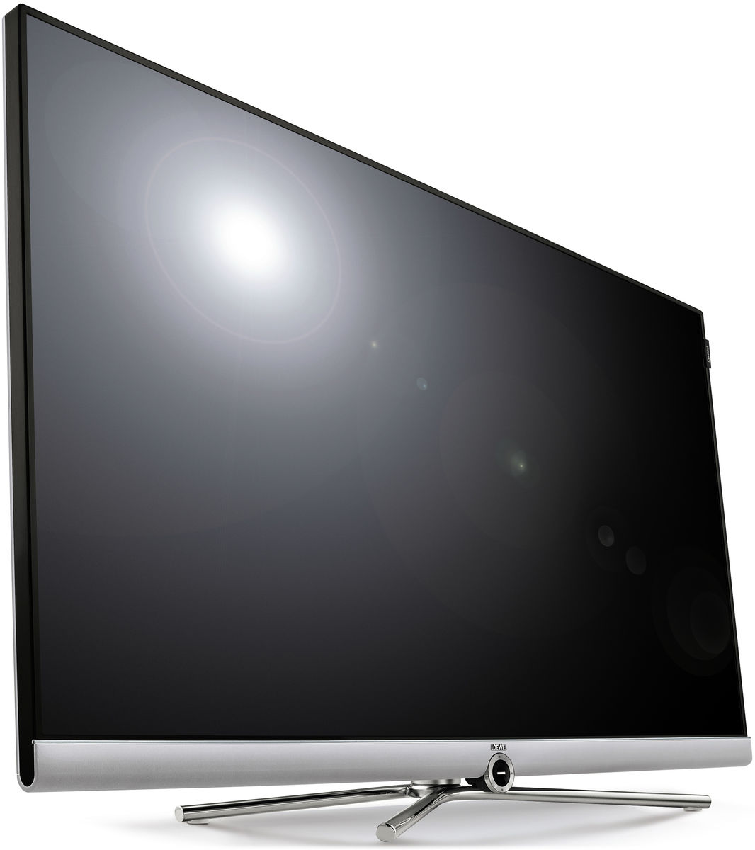 Loewe Connect 48 Dr Silver T L Viseurs Uhd 4k Sur Son Vid O Com # Meuble Tv Barre De Son Integree