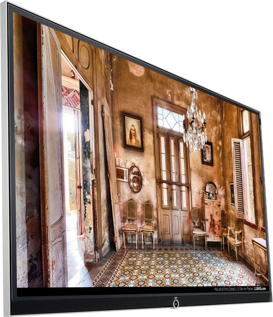 loewe reference 75 t l viseurs uhd 4k son vid. Black Bedroom Furniture Sets. Home Design Ideas