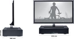 Magnat Sounddeck 200 BTX Vue schéma dimensions
