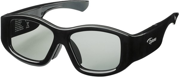 Optoma 3D RF Vue principale