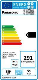 Panasonic TX-55AX900E Etiquette énergétique