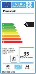 Panasonic TX-L24XM6E Etiquette énergétique