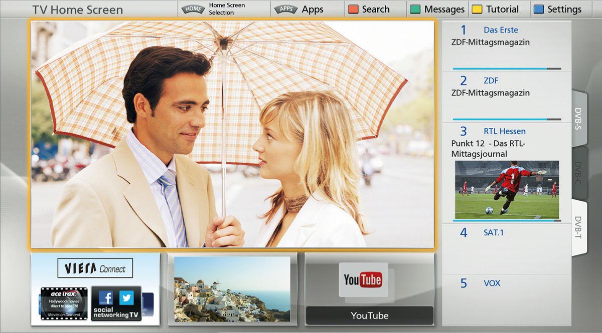 Panasonic TX-L42DT60E Téléviseurs HD - Son-Vidéo.com