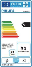 Philips 24PHH5219 Etiquette énergétique