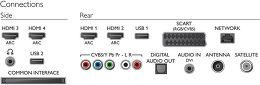 Philips 47PFK7509 Vue de détail 1
