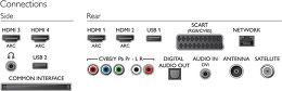 Philips 55PFK7179 Vue de détail 1