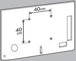 Philips 55PUS7909 Vue arrière