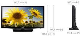 Samsung UE19H4000 Vue schéma dimensions