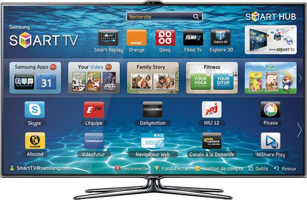 Samsung UE-40ES7000 Vue principale