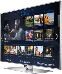 Samsung UE46F7000 Vue 3/4 droite