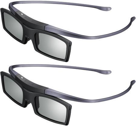 Samsung UE55H8000 - Deux paires de lunettes 3D fournies