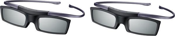 Samsung UE55HU8200 - Deux paires de lunettes 3D fournies