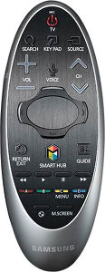 Samsung UE55HU8500 - télécommande
