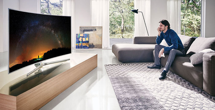 samsung ue55js9000 t l viseurs uhd 4k son vid. Black Bedroom Furniture Sets. Home Design Ideas