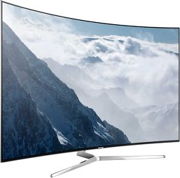 Samsung UE55KS9000 Vue 3/4 gauche