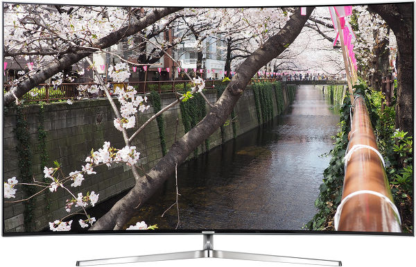 Samsung UE55KS9000 Vue principale