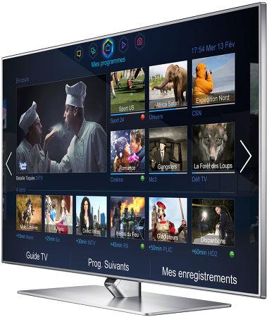 Samsung F7000 vue de trois/quart