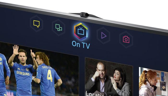 Samsung UE65F9000 - Caméra intégrée