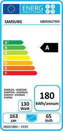 Samsung UE65HU7500 Etiquette énergétique