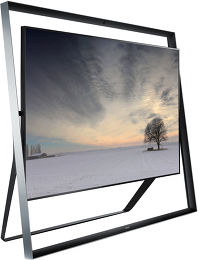 Samsung UE85S9 Vue 3/4 gauche