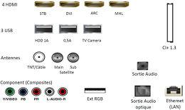 Samsung UE85JU7000 Vue de détail 3