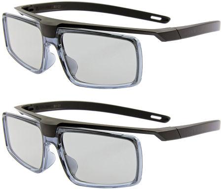 Sony KD65X8505 - 2 paires de lunettes 3D fournies