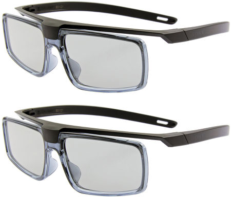 Sony KD65X9005 - 2 paires de lunettes 3D fournies
